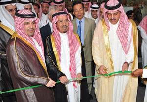 Prince Dr Abdul Aziz Bin Ayaf Al-Muqrin inaugurates Saudi Build 2010