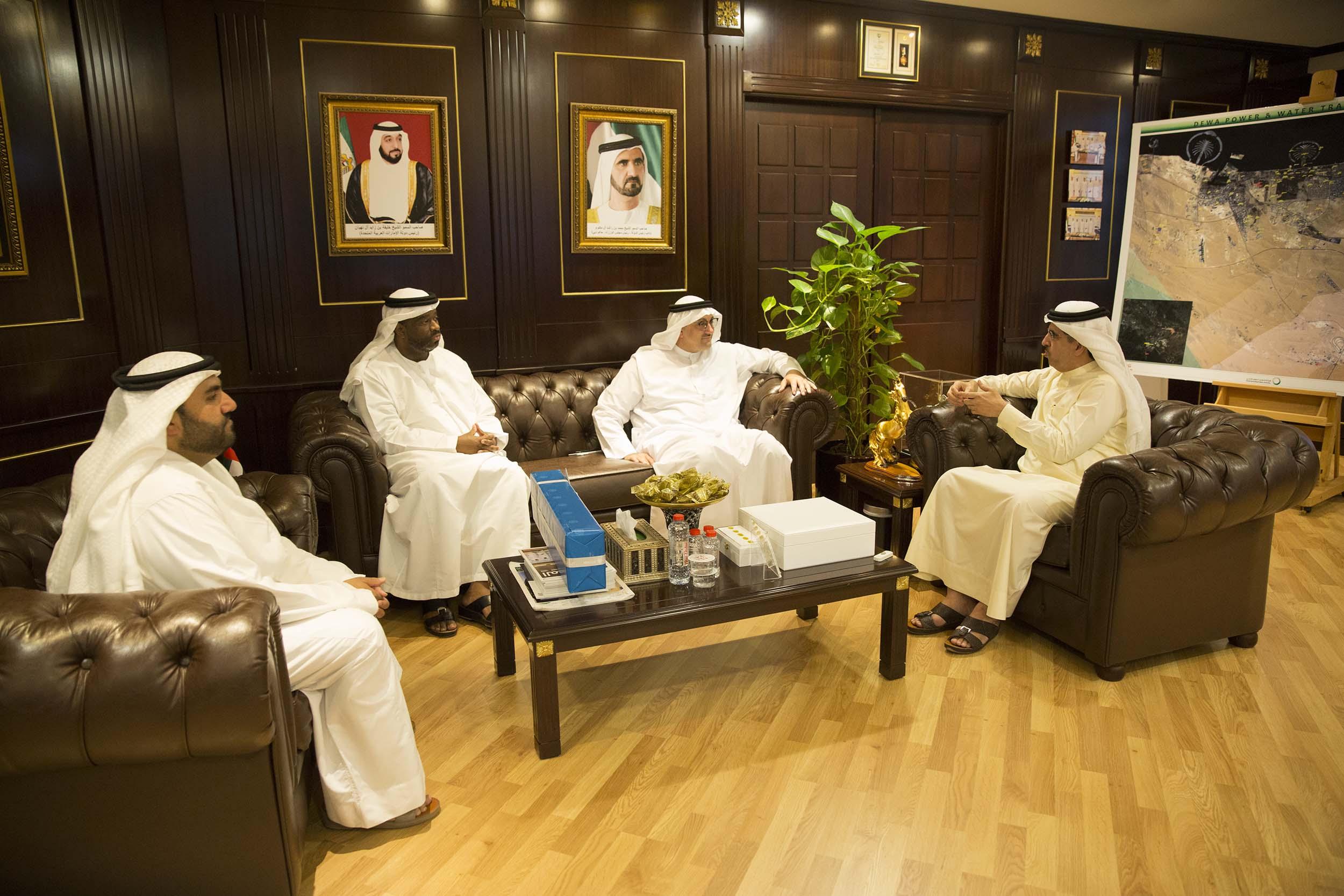 DEWA Masdar delegation