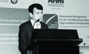 Didier Coulomb, Director General of the International Institute of Refrigeration (IIR)