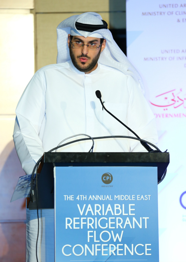 Engr Essa Al Hashmi, Undersecretary Assistant of Environmental Affairs at the UAE Ministry of Climate Change and Environment