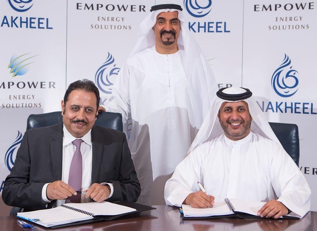 Empower Nakheel signing ceremony