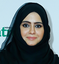 Eng Anwaar Al Shimmari, the Director of the Projects Planning Department at the UAE Ministry of Public Works