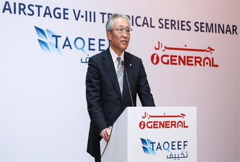 Esturo Saito, President, Fujitsu General Limited