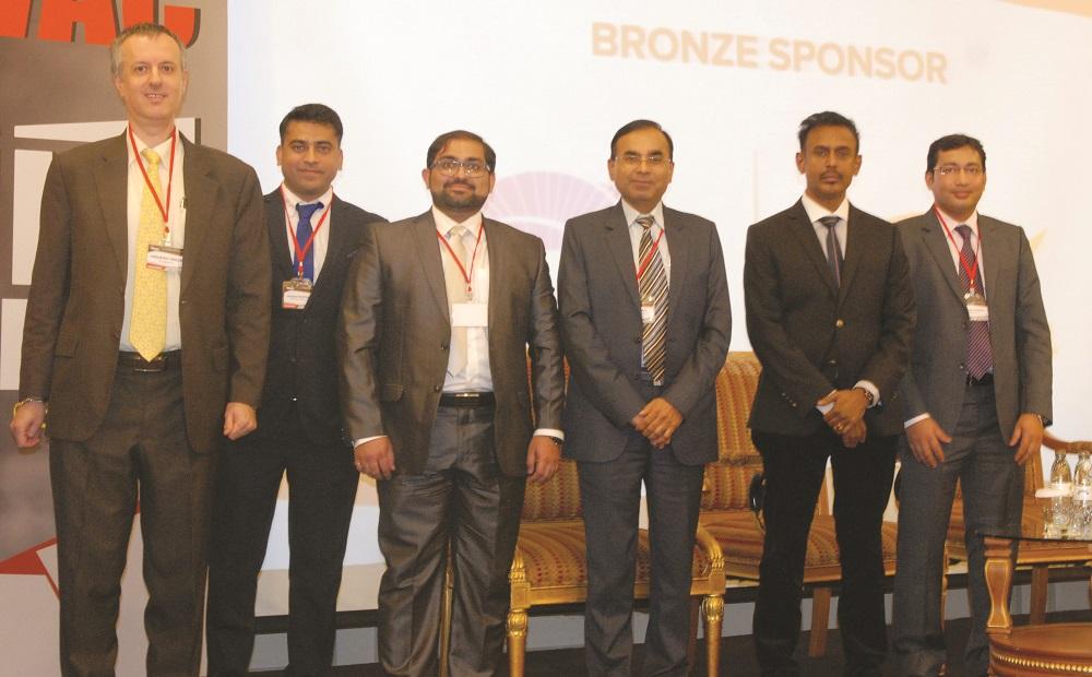 L-R: Frédéric Paillé, CPI Industry; Gaurav Bhatnagar, Armacell; Quresh Motiwala, Leminar; Dipak Bhadra; Sriram CMP, Betec Cad; Monazir Ansari