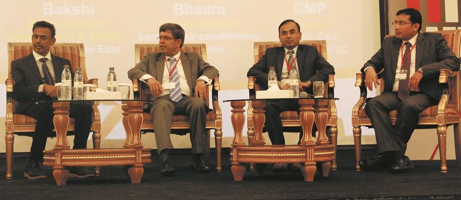 L-R: Sriram CMP, Vilas Bakshi, Dipak Bhadra, Monazir Ansari