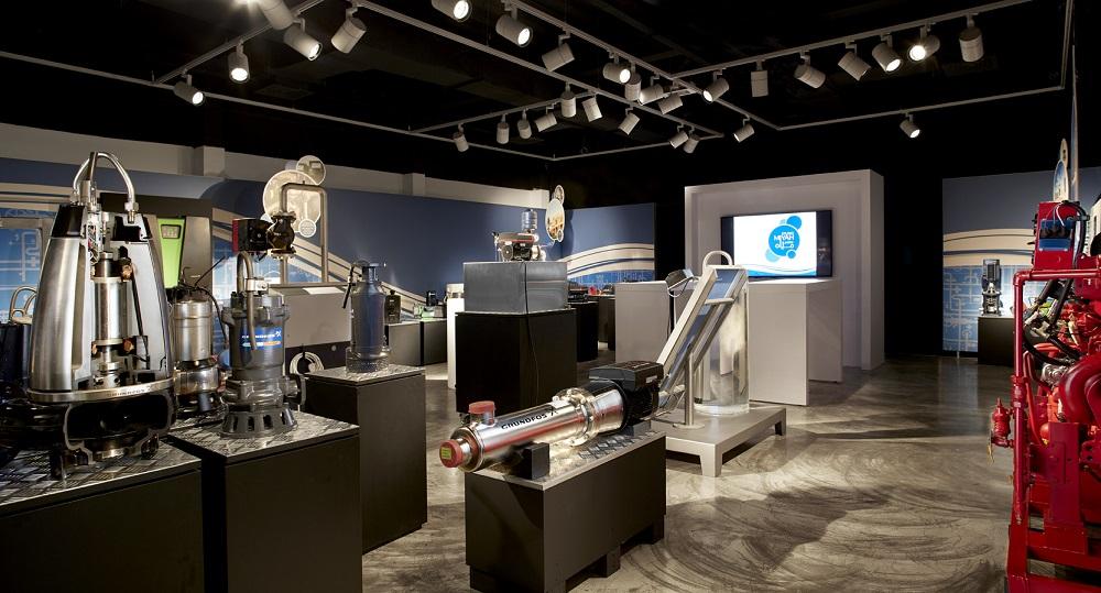 The interior of Studio Miyah
