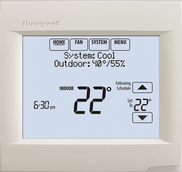 Honeywell's VisionPRO 8000 thermostat for mosques