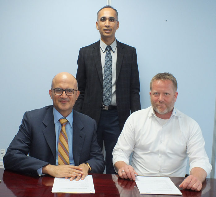 Kuwait Hvac Companies Mail: Leminar Signs Distribution Agreement With Georg Fischer To