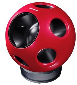 Panasonic's ball-shaped Q Fan. Credits: Panasonic