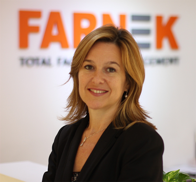 Sandrine Le Biavant, Director of Consultancy at Farnek