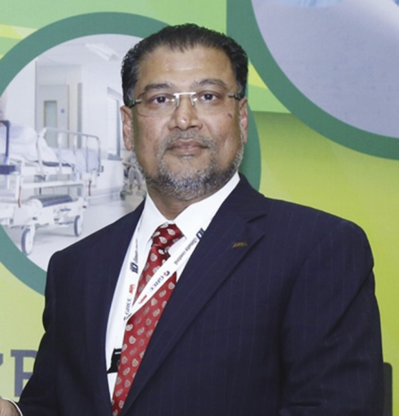 Zakir Ahmed, Managing Director of NIA Limited
