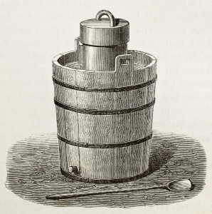 antique ice cream maker_shutterstock