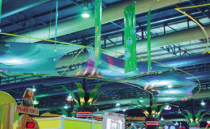 One of DuctSox's projects at the Red Sea Mall, in Jeddah