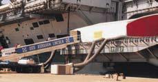 USS Abraham Lincoln, Jebel Ali Port, Dubai