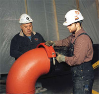 The latest grooved systems now offer even greater strength and reliability for medium to large diameter pipes.