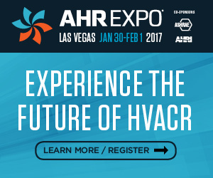 Banner – AHR Expo 2017