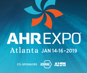 Banner – AHR Expo 2019