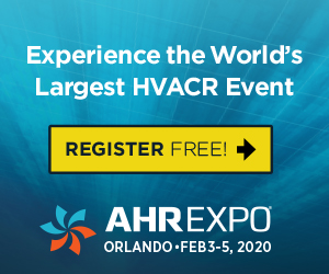 Banner – AHR Expo 2020