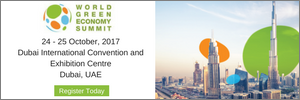 Banner – World Green Economy Summit 17