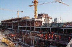 The Bridge Way Hotel project in Abu Dhabi, where Morex supplied