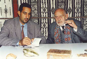 With Theodore Monod