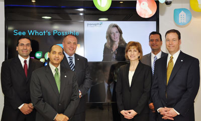Johnson Controls Team at the Panoptix Launch in UAE