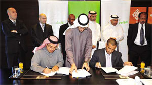 Zamil Industrial signing ceremony