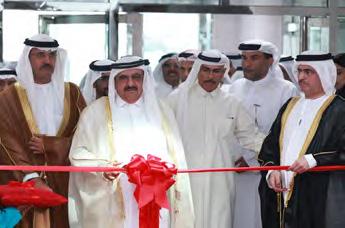 H.H. Sheikh Hamdan Bin Rashid Al Maktoum opening DEWA's sustainable building